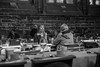 a happy talk (paul hitchmough photography 2) Tags: candid portrait chestercathedral chester blackandwhite bw monochrome nikond800 nikon2470mm nikonphotograhy cathedral cafeculture people paulhitchmoughphotography happyface