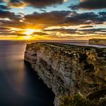 Sunset at the cliffs thumbnail