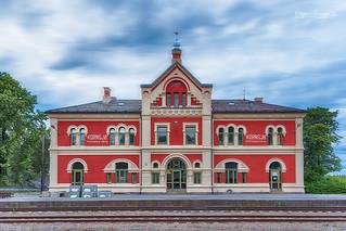 Kornsjø Railway Station