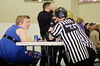 044 (Bawdy Czech) Tags: lava city roller dolls cinder kittens cherry blossoms derby skate october 2017 bend oregon katy ryan announcer referee woody