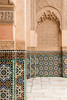 Moroccan Architecture (joscelyn_p) Tags: morocco moroccan marrakech architecture benyoussefmadrasa benyoussef travel traveling traveler canon lightroom colors colorful unique design