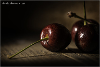 Macro Mondays - Sidelit (Option) - Cherries