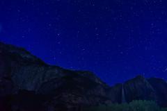 Stars Over Yosemite Falls (Christopher Wallace) Tags: yosemitefalls yosemite valley waterfall stars astrophotography digital photography california yosemitenationalpark nationalpark parkservice park night dark lowlight nikon nikond500 d500 sky starry 14mm wideangle superwideangle ultrawideangle