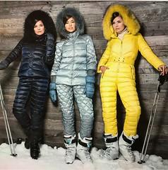 conso black silver yellow (skisuitguy) Tags: skisuit snowsuit ski snow suit skiing skifashion skiwear skibunny onepieceskisuit onepiecesuit onesie