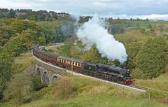 By Worth (Feversham Media) Tags: keighleyandworthvalleyrailway mytholmesviaduct mytholmes oakworth westyorkshire yorkshire black5 44871 steamlocomotives preservedrailways heritagerailways haworth lms stanier