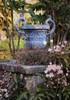 Rita Crane Photography: Glimpse of Dartington Gardens, Devon, England (Rita Crane Photography) Tags: dartingtongardens devon historicproperty swengland england uk gardens urn clematis wwwritacranestudiocom ritacranephotography
