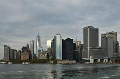 Manhattan_Skyline_South view (franciscogualtieri) Tags: usa nyc downtown oneworldtradecenter nikond7000 skyline