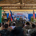 U.S., Philippine officials participate in an elementary school dedication ceremony during exercise KAMANDAG