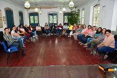 Roda de conversa com profissionais de saude, de Itaboraí, sobre prevenção de cancer de mama (2) (itaborairj) Tags: roda conversa saúde câncer mama 23102017