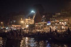 Varanasi - Ganges River - boat - Ganga Aarti prayer
