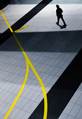 YZ (/ urban.fishing /) Tags: dresden airport lines geometry angle urban humaningeometry curve pov silhouette graphic