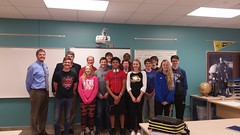 Mr. Hone's Rothsay 9th Grade Class.