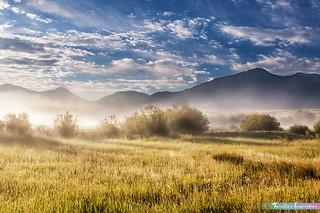 Sunlight Shining Montana Valley *A Beautiful Nature*