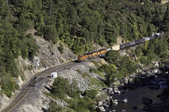 BNSF in FRC (lennycarl08) Tags: burlingtonnorthernsantafe burlingtonnorthernsantaferailroad bnsf trains railroad featherrivercanyon california northerncalifornia