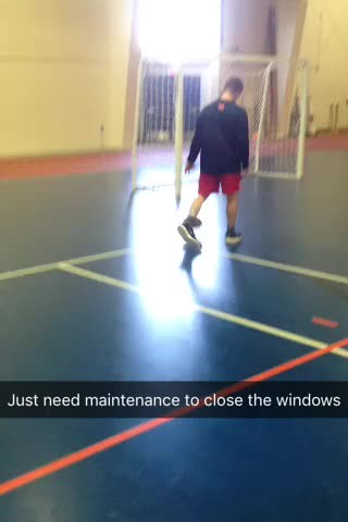 Video - pre-practice basketball