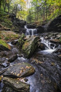 R.B. Ricketts Falls (version II), 2017.10.14