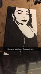(CreativeCatalinaDesign) Tags: gift mothers day love portraits bw