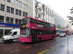 2114, Belfast, 10/09/17 (aecregent) Tags: belfast 100917 translink translinkmetro volvo b5tl wright gemini3 2114 fgz3114 9b