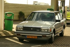 Toyota Crown - 1986 (timvanessen) Tags: pd92kh super saloon automatic automaat aut