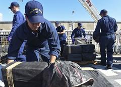 Coast Guard offloads more than 6,500 pounds of cocaine seized in Eastern Pacific (Coast Guard News) Tags: coastguard cocaine offload active interdiction drug bust pacarea d11 sandiego california unitedstates us