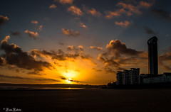 A Stormy sunset (Eiona R. [Busy over the Weekend]) Tags: swansea wales unitedkingdom gb wfc smq
