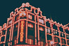 harrods. (Virginia Gz) Tags: harrods knightsbridge london england unitedkingdom uk greatbritain bokeh lights night