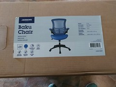 19Oct17 Happy (belated) Bday gift from my hubby to me. We tried to pick it up on the day, but the store we went to didn't have any in stock. Is great to have a comfortable chair again. #latergram #2017pad #photoaday #picaday #officestuff