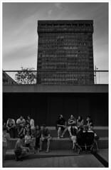 Donosti (Torre de Atocha) (jcolubi) Tags: donosti street urbana ciudad bw bn sansebastián