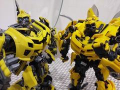 IMAG9003 (capcomkai) Tags: mpm bbb bumblebee weijiang moviemasterpiece autobot transformers rotf knockout enlarge upscale