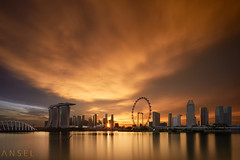 Point of Impact (draken413o) Tags: singapore architecture cityscapes skyline skyscrapers urban places scenes asia travel destinations gardens by bay east marina wow sunset epic sunstar tilt shift canon 5dmk4 17mm tse beautiful light burn