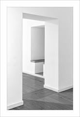 Zona de pas VII / Transit area VII (ximo rosell) Tags: ximorosell bn blackandwhite blancoynegro bw buildings arquitectura architecture abstract abstracció minimal interiors interiores llum luz light nikon d750 valencia