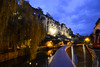 CAVE - Luxembourg (-MDCe) Tags: grund luxembourg ville city border frontière automne fall colors nightphotography night nikon europe castle fort river alzette saturday blue rampart rempart oldtown basse villebasse trip roadtrip trees cave stone oldbuilding oldcastle history season