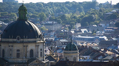 Dominican church and monastery (Ihor Hlukhoi - intui.pro) Tags: outdoor ukraine lviv architecture art city ancient house palaces tree road building panorama