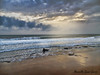 The Sea in Autumn (Marcella Spanò Garsia) Tags: sea seaside wave clouds rays evening mediterraneo autumn autunno sicily sicilia italy
