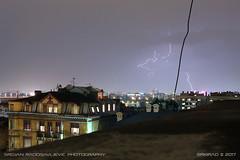 20170503-2047 (srkirad) Tags: city belgrade beograd serbia srbija night skyline lightning clouds cloudy lightnings storm lowlight longexposition