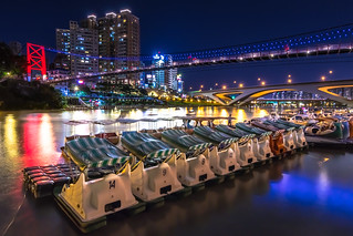 #Taiwan #�� #新北市 #新店 #碧潭 #夜景 #view #night #landscape #canon #eos80D #t116