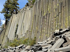 California, Mammoth Lakes, Devils Postpile National Monument DSCN0472 (ianw1951) Tags: basalt california columnarjointing lava usa geology