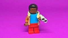 LEGO Lucas Sinclair Stranger Things (Dalek Bricks) Tags: stranger things lucas sinclair lego minifigure