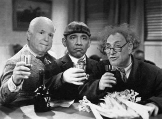 When I was a kid in the 1960s, one of my favorite TV shows were old reruns of 1930s Three Stooges movies. If the same films were to be made today, I'd love to cast these three gentlemen in the same roles.