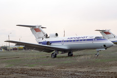 CCCP-87710 Yakovlev Yak-40 Aeroflot (pslg05896) Tags: akx uatt aktyubinsk aktobe kazakhstan cccp87710 yakovlev yak40 aeroflot