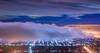 虎頭山 (王宇信) Tags: sony a7m2 a7ii fe1635 台灣 南投 虎頭山 雲海 琉璃光 夜景 taiwan nantou seaofclouds cloud night nightview longexposure zeiss 埔里