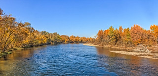 Autumn Tones On The Payette River