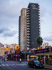 Benidorm.  .  . (CWhatPhotos) Tags: benidorm olympus cwhatphotos redlion pub hotel donpancho pancho don clouds cloud sky above skies omd em10 digital camera photographs photograph pics pictures pic picture image images foto fotos photography artistic that have which with contain