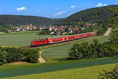 DB 111 171 (maurizio messa) Tags: rb59151 br111 bahn bayern mau ferrovia germania germany nikond7100 treni trains railway railroad