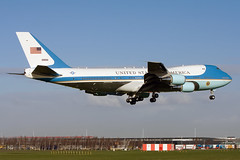 29000, VC-25A, United States of America (Air Force One) (Freek Blokzijl) Tags: usa america potos barackobama nss 2014 thehague vc25a boeing747 airforceone arrival security amsterdamairport schiphol aalsmeerbaan spring march president summit visit country meeting planespotting canon eos7d f2870200 landing approach toplevel