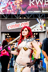 NYCC - Dangrrr Doll as Red Sonja-8 (Rodrigo Ramirez Photography) Tags: rodrigo ramirez photograpy 2017 rodrigoramirezphotograpy2017 rodrigoramirez starwars comiccon nycc newyorkcomiccon nycc2017 newyorkcomiccon2017 newyork nyc newyorkcity ny manhattan photographer cosplay toys toy japanese anime games gameofthrones javitscenter floor mainhall onepiece dragonball darthvader captainamerica attackontitan blackpanther bobsburgers tina louise dangrrrdoll redsonja