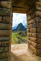 Spying Machu Picchu, Urubamba, Peru. (Aethelweard) Tags: cuzco peru historicbuilding history historic ancienthistory inca incan old beautiful stunning town