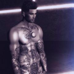 You're back inside my dreams... (J M ( Freakshow zsun)) Tags: bolson anxiety tmd themensdept theindustrie mesh tattoo men sl secondlife