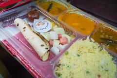 Train - Delhi to Rajasthan food