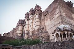 Rajasthan - Jodhpur - blue city- Mehrangharh Fort-2